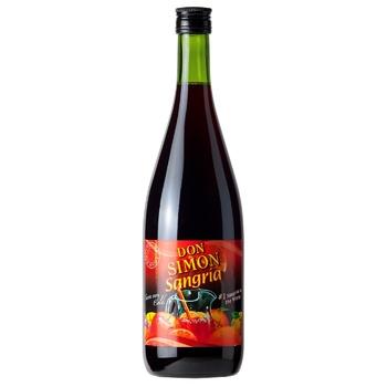 Вино Don Simon Sangria красно сладкое 7% 1л