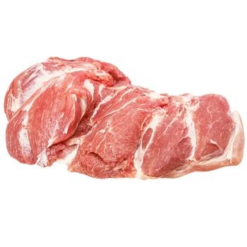 Лопатка свиняча без кістки охолоджена домашня - купити, ціни на Фуршет - фото 1