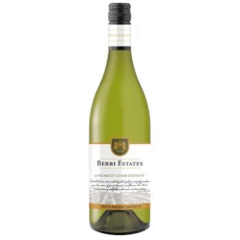 Вино Berri Estates Chardonnay белое сухое 13% 0,75л