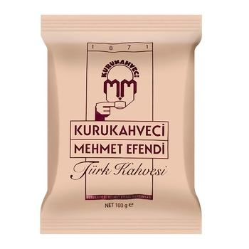 Кофе молотый Kurukahveci Mehmet Efendi 100г - купить, цены на МегаМаркет - фото 1
