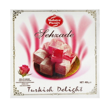 Turkish delight Malatya pazari with rose extract 400g - buy, prices for Auchan - photo 1