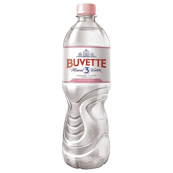 Вода Buvette N3 минеральная негазированная 1.5л - купить, цены на Фуршет - фото 1
