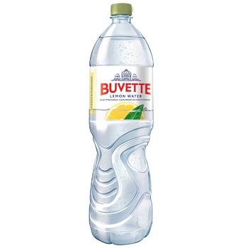 Вода минеральная Buvette лимон 1,5л - купить, цены на Фуршет - фото 1