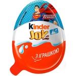 Кондитерское изделие Kinder Joy с игрушкой 20г