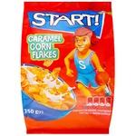 Start! Caramel Corn Flakes 350g