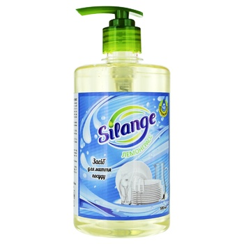 Silange Lemongrass Means For Washing Dishes 0,5l - buy, prices for Furshet - image 1