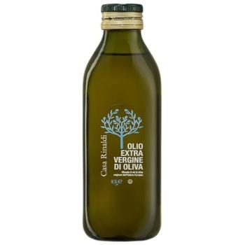 Oil Casa rinaldi olive extra virgin 500ml glass bottle - buy, prices for Novus - image 1