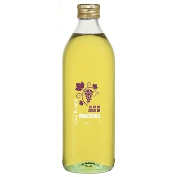 Oil Casa rinaldi with grape seed 1000ml glass bottle - buy, prices for MegaMarket - image 1