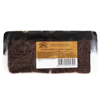 Хлібці Формула Смаку заварні з чорносливом 300г - купити, ціни на Фуршет - фото 1