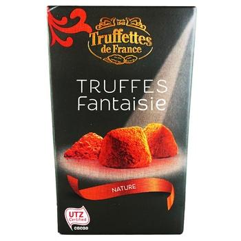 Конфеты Chocmod Truffettes de France трюфельные классические мини 40г - купить, цены на Ашан - фото 1