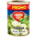 Гуава Тропик лайф кусочками в сиропе 425мл - купить, цены на МегаМаркет - фото 1