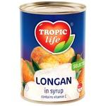 Лонган Tropic Life у сиропі 580мл