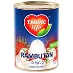 Рамбутан Tropic life в сиропі 580мл