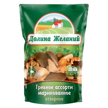 Dolina Zhelaniy Pickled Mushroom Assorti 200g - buy, prices for Furshet - image 1