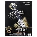 Aznauri Alazani Valley Red Semisweet Wine 9-13% 3l