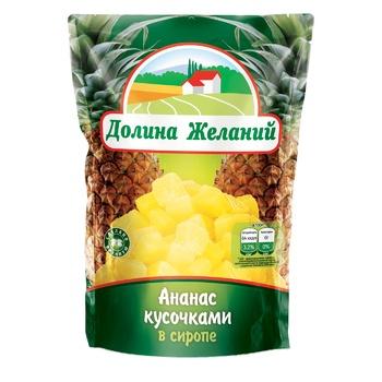 Dolyna Bazhan Pineapple slices 360g - buy, prices for Furshet - image 1
