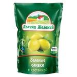 Dolina Zhelaniy Green Olives with Bone 160g