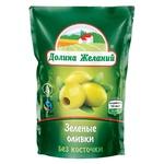 Dolina Zhelaniy Pitted Green Olives 160g