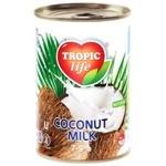 Молоко Tropic Life кокосовое 7-9% 425мл