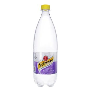Schweppes Premium Tonic Water Carbonated Beverage 1l