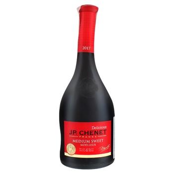 Вино J.P. Chenet Rouge Medium Sweet червоне напівсолодке 12% 0,75л - купити, ціни на CітіМаркет - фото 1