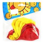 Шарики надувные Праздник Мечты желтые и красные 8шт