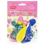 Eventa Multicolored With Picture Balloons 6pcs