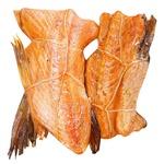 Мясо лосося с хребтом Master Fish горячего копчения