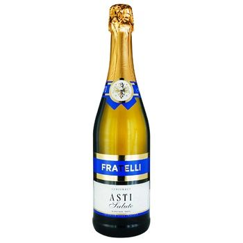 Fratelli Asti Salute Sparkling wine White Semisweet 10,5-12,5% 0,75l