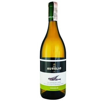 Don Aurelio Verdejo D.O.P. White Dry Wine 11,5% 0.75l - buy, prices for CityMarket - photo 1