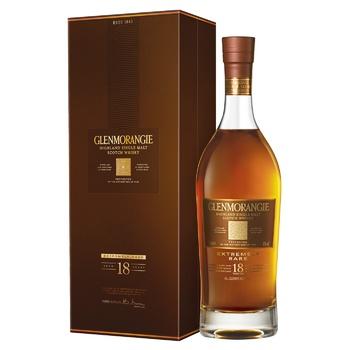 Виски Glenmorangie 18 лет 43% 0,7л - купить, цены на Фуршет - фото 1