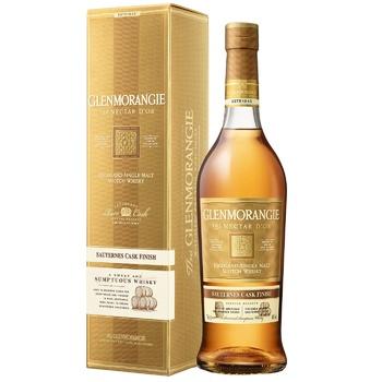 Виски Glenmorangie Nectar d'Or 12 лет 46% 0.7л - купить, цены на Фуршет - фото 2