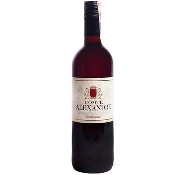 Вино Comte Alexandre красное сухое 10,5% 0,75л - купить, цены на ЕКО Маркет - фото 1