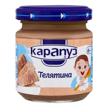 Пюре Карапуз Телятина для дітей з 6 місяців 90г