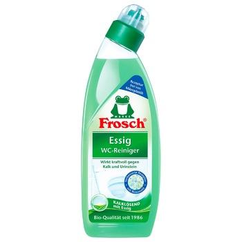 Чистящее средство Frosch Уксус для унитазов 750мл - купить, цены на Ашан - фото 3