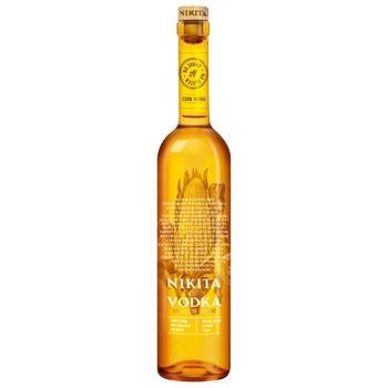 Водка Nikita кукурузная 40% 0.7л