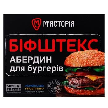 Бифштекс Мястория Абердин для бургеров из говядины 750г