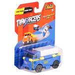 Игрушка TransRacers машинка 2 в 1 грузовик и погрузчик