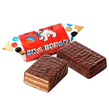 Конфеты Бисквит Шоколад Тузик - купить, цены на Восторг - фото 1