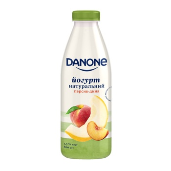 Йогурт Danone персик-дыня 1,5% 800г