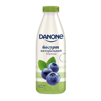 Danone bilberry yogurt 1,5% 800g - buy, prices for Furshet - image 1