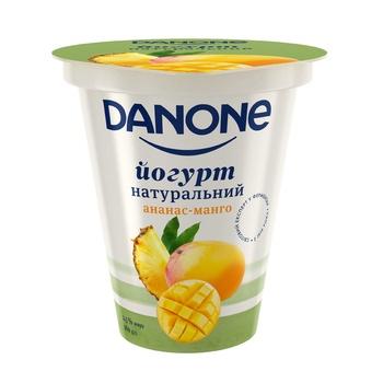 Danone pineapple-mango yogurt 2,5% 260g - buy, prices for Furshet - image 1