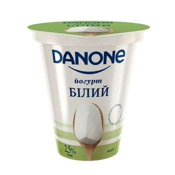 Danone Yogurt without Filler 2,5% 260g - buy, prices for Auchan - photo 1