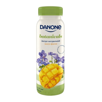 Danone Drinking yogurt mango-violet 1.5% 270g