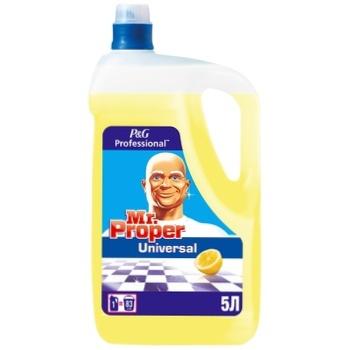 Моющее средство Mr. Proper Лимон универсальное 5л - купить, цены на Метро - фото 1