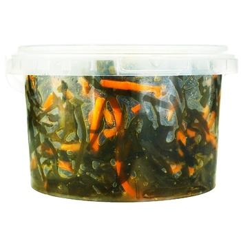 Морская капуста Bravita с морковью 400г - купить, цены на Ашан - фото 1
