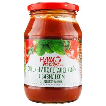 Соус томатный Наш продукт Неаполитан 460г