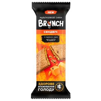 Снек Brunch Чеддер хрустящий сендвич 47г