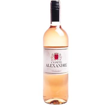 Вино Comte Alexandre рожеве сухе 10,5% 0,75л