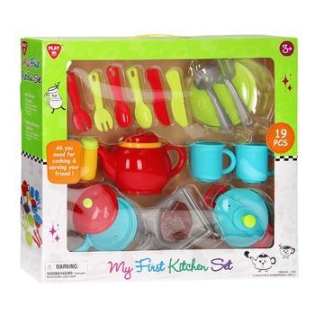 Набір іграшкового посуду One two fun 22шт